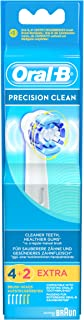 Oral-B Precision Clean Replacement Electric Toothbrush Heads, 6 Count
