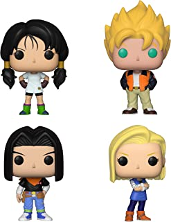 Funko Animation: Pop! Dragon Ball Z Series 5 Collectors Set - Videl, Goku(Casual), Android 17, Android 18
