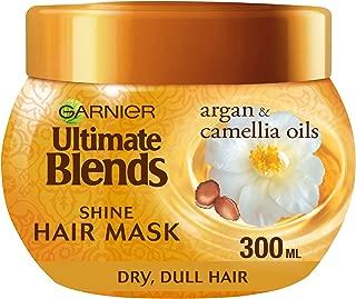 Garnier Ultimate Blends Argan Oil Shiny Hair Mask Treatment 300 ml