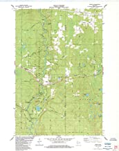 YellowMaps Brule WI topo map, 1:24000 Scale, 7.5 X 7.5 Minute, Historical, 1984, Updated 1984, 27.25 x 21.57 in