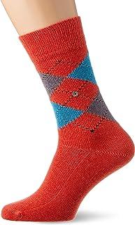 Burlington Socken Preston weiche Fasern Herren grau blau viele weitere Farben verstärkte Herrensocken mit Muster atmungsaktiv kariert mit Argyle 1 Paar