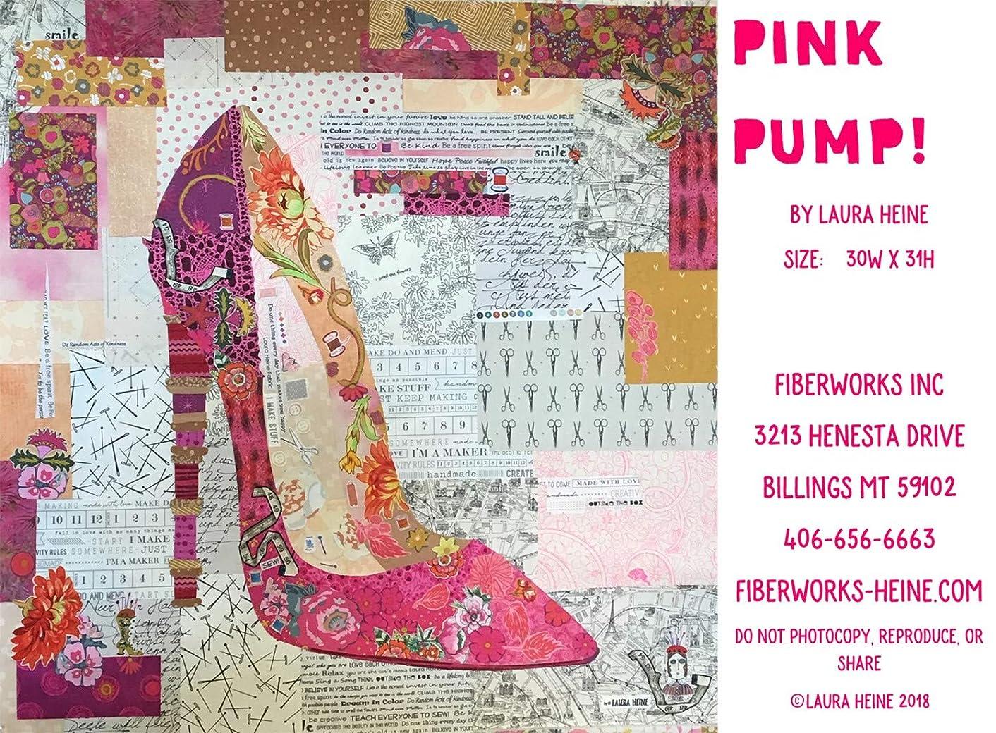 Pink Pump Quilt Pattern by Laura Heine
