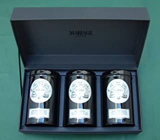 Mariage Frères - FRENCH TEA TIME® - 3 Teas gift set - EACH: 3.52oz / 100gr canister / tin
