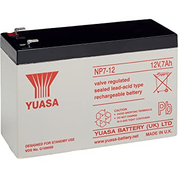 FIAMM-Bater/ía de plomo recargable FG21201 Vds 12 v Lead Acid-Bater/ía de plomo de