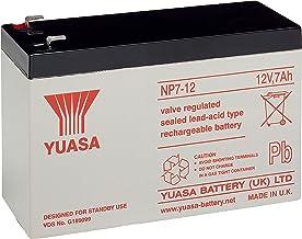 Yuasa NP7-12 - Batería recargable de plomo 12 V (230-6,35mm)