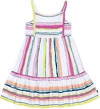 Nautica Little Girls' Patterned Sleeveless Dress