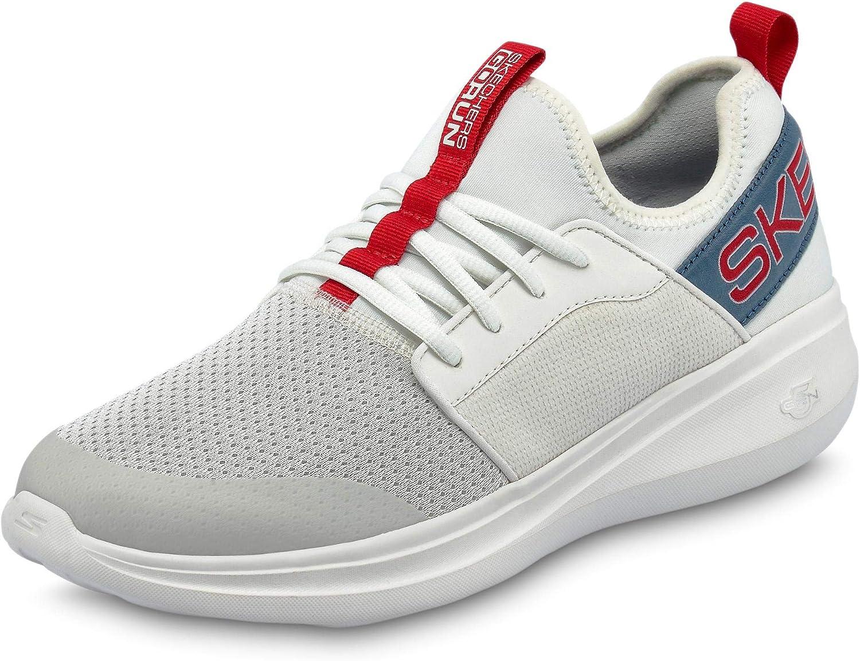 Skechers Men's Go Fast Steadfast-High Apex Slip on Running Shoe Sneaker
