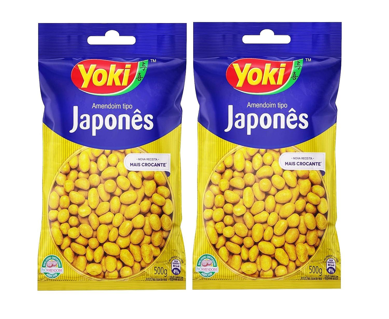 Yoki - Japanese OFFicial mail order Peanuts 17.6oz JaponàPACK 02 OF 55% OFF Amedoim