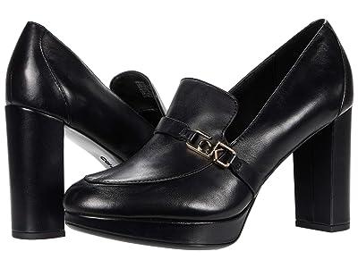 Calvin Klein Pressy (Black Stretch Satin) Women