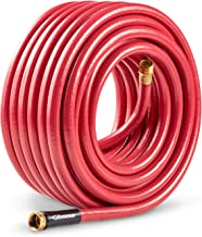Gilmour 829901-1001 Farm & Ranch Hose 5/8 Inch x 90 Feet, Red