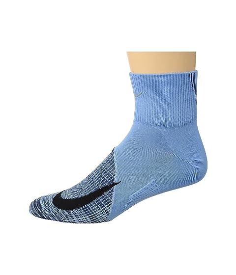 Negro y Indigo Cobalt Nike Pulse ligeros Elite de Neutral ligeros running Calcetines qtwgnPABw