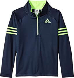 Quarter Zip Pullover Top (Big Kids)
