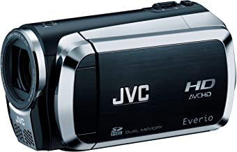 JVC Everio GZ-HM200 Dual SD High-Def Camcorder (Black) (Discontinued by Manufacturer)