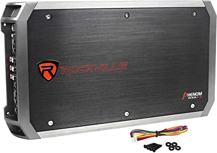 Rockville RXA-F2 2400 Watt Peak / 1200w RMS 4 Channel Amplifier Car Stereo Amp
