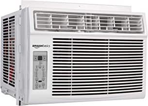 AmazonBasics Window-Mounted Air Conditioner with Remote - Cools 400 Square Feet, 10,000 BTU