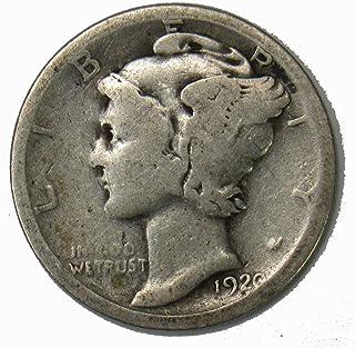 1920 S Silver Mercury Dime 10c Average Circulated