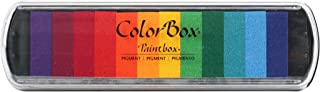 CLEARSNAP Colorbox Pigment Paintbox 2-Option Pad, Brights, 12 Colors Per Pad