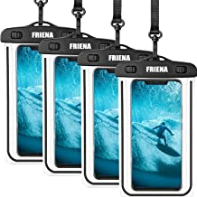 FRIENA Waterproof Phone Pouch Universal IPX8 Waterproof Phone Case Cellphone Dry Bags Compatible...