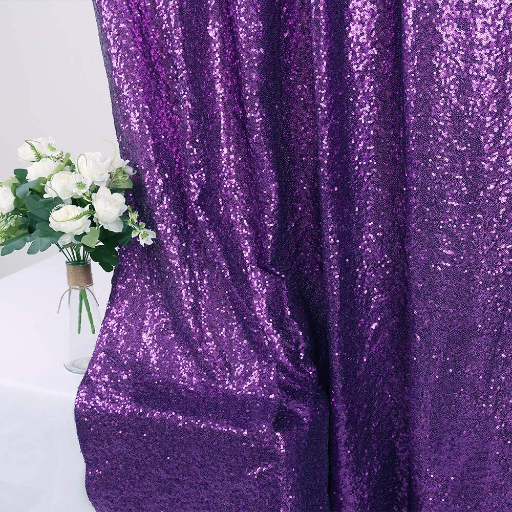 Zdada 3ftx7ft-Rose Gold Sequin Backdrop Sparkly Wedding Sequin-Backdrop Glitter Photography Backdrop