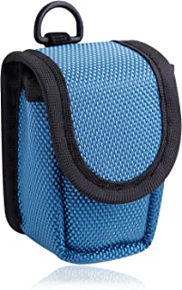 mibest Blue Pulse Oximeter Case - Nylon O2 Saturation Monitor Case - SPO2 Pulse Oximeter Carry Case - Portable Oxygen Sens...