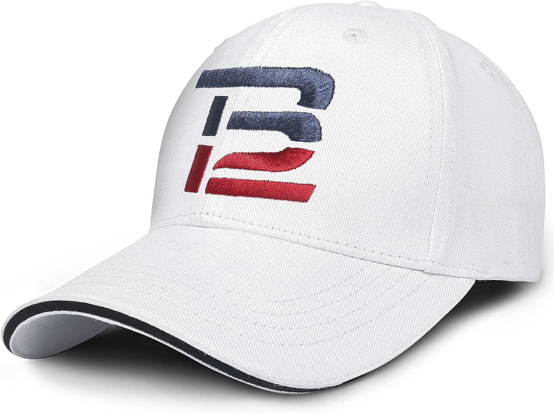 WEBALEN Goat-12-Tom-Football-Brady-tb-Logo Mens Womens Caps Lightweight Truck Running Hats