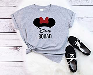 Disney Squad Family Matching Shirts, Disney Vacation Family Shirts, Adult, Youth, Toddler and Onesie Size Available
