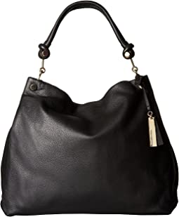 919aedfe825 Vince camuto margo hobo black dotted camel