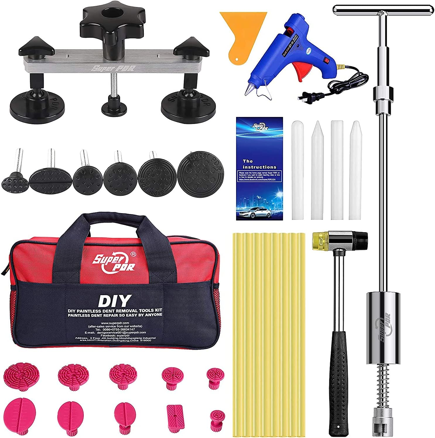 SXY Paintless Dent Repair Recommendation Sale special price Kit Body with Removal Car Dou