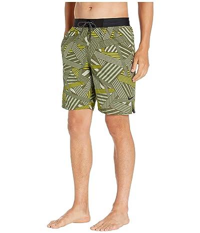 Nike 9 6:1 Dazzle Vital Volley Shorts (Medium Olive) Men