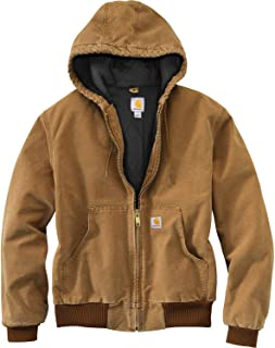 Men's Quilted Flannel Lined Duck Active Jacket