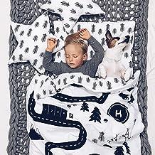 Draps de rechange pour pr/êt-/à-dormir Uni blanc 130 x 190 cm coupe /à droite