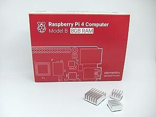 正規代理店商品 Raspberry Pi 4 Model B (8GB) made in UK 技適マーク入 ヒートシンク(3個)付き