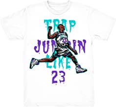Grape 5 Trap Jumpin' Shirt to Match Jordan 5 Grape Fresh Prince Sneakers White t-Shirts
