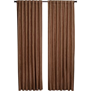 Natural BEACON LOOMS 25810084KHAK00T 1888 Mills Austin  56-inch-by-84-inch Single Blackout Panel