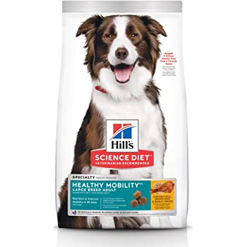 Amazon Com Hill S Science Diet Dry Dog Food Large Breed Adult 6 Senior Chicken Barley Brown Rice Recipe Pet Supplies