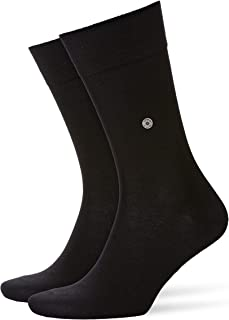 BURLINGTON Men's Lord Socks - 82% Cotton, Multiple Colours, UK sizes 6.5-14 (EU 40-50), 1 Pair - Thin ankle socks for all ...