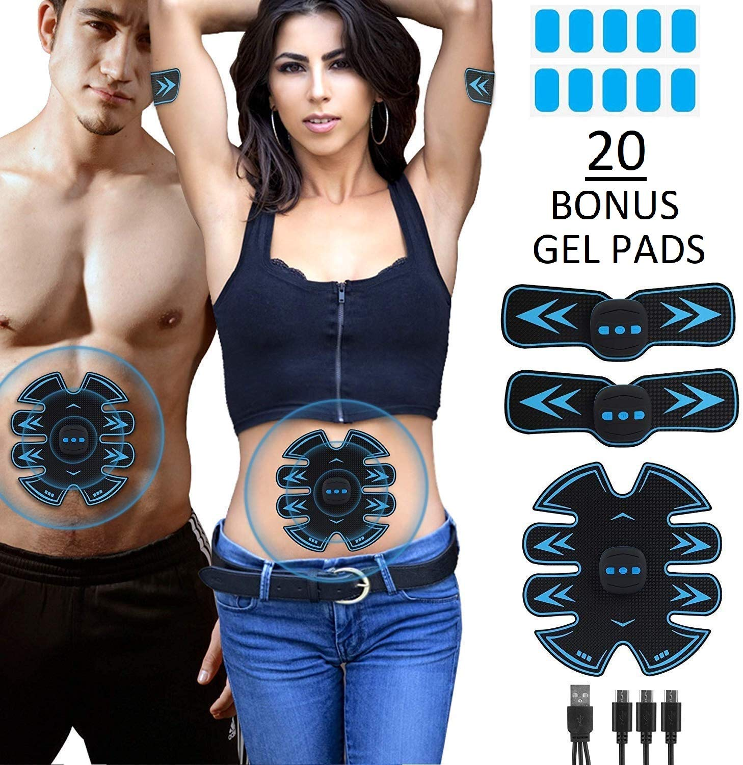Eon Concepts Stimulator Rechargeable Abdominal