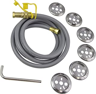 Char-Broil 4984619A Natural Gas Conversion Kit-2008 to 2019, Silver