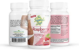 Raspberry Ketones, 60 Capsules, 250 mg, Safe & Effective Weight Loss Supplements