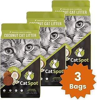 CatSpot Litter, Non-Clumping Formula: Coconut Cat Litter, Biodegradable, All-Natural, Lightweight & Dust-Free