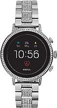 Fossil Women's Gen 4 Venture HR Stainless Steel Touchscreen Smartwatch with Heart Rate, GPS, NFC, and Smartphone Notificat...