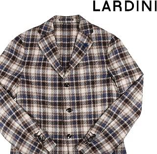 [46] [LARDINI] ラルディーニ ジャケット メンズ ベージュ シルク100% [17353] [並行輸入品]