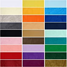 Velour Polar Fleece Anti Pill Fabric, Quality Material. 28 Fashion Colours, Medium Weight, Great Drape & Handle. Natural Stretch Pile for Garments, Home Décor & Crafts.