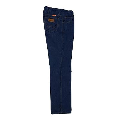 Wrangler Flame Resistant Premium Performance Slim Fit Jeans (Dark Denim) Men