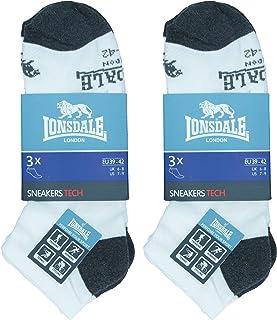 Sneaker Tech 6 pares de calcetines ideales para trekking, tenis, ciclismo, excelente calidad de algodón