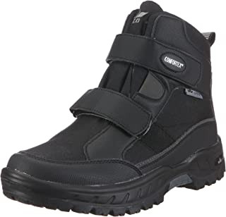 Lico Men's Ecuador V Snow Boot, Black Grey, 8 UK