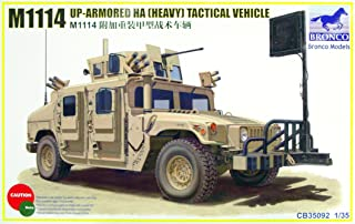 Bronco Models 1/35 M1114 Up-Armored HA (Heavy) Tactical Vehicle