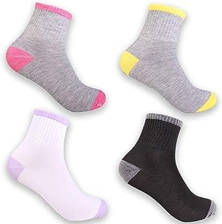 Pack de 6/12 Calcetines para Mujer Sneaker Cortos de algodón Multicolor 92228