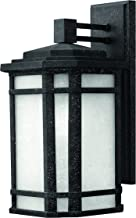 Hinkley 1274VK-LED Transitional One Light Wall Mount from Cherry Creek collection in Blackfinish,