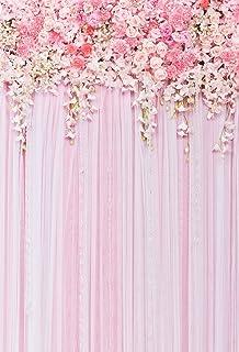 Muzi 150x 220cm algodón poliéster rosa flores